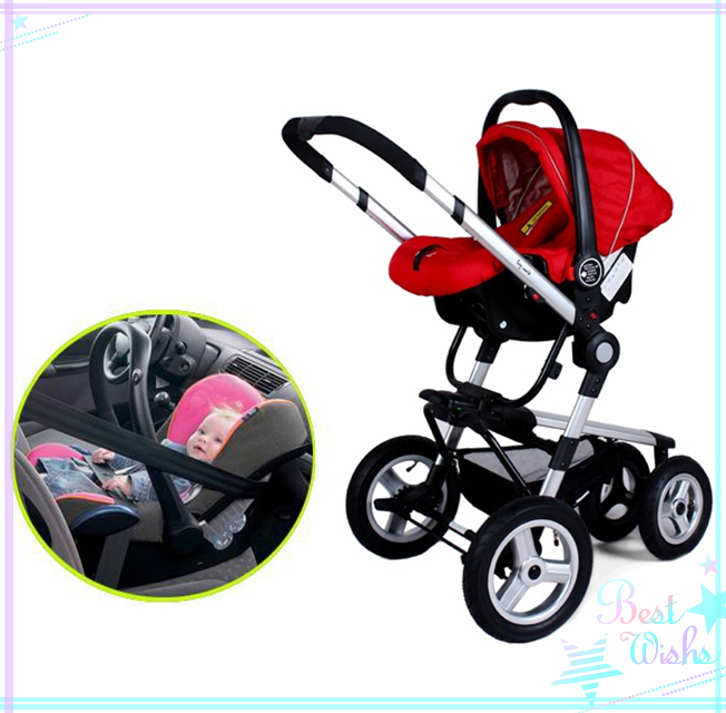 Baby stroller seat is higher From the surface of the high temperature damage Baby Carriage 3 in 1<br>