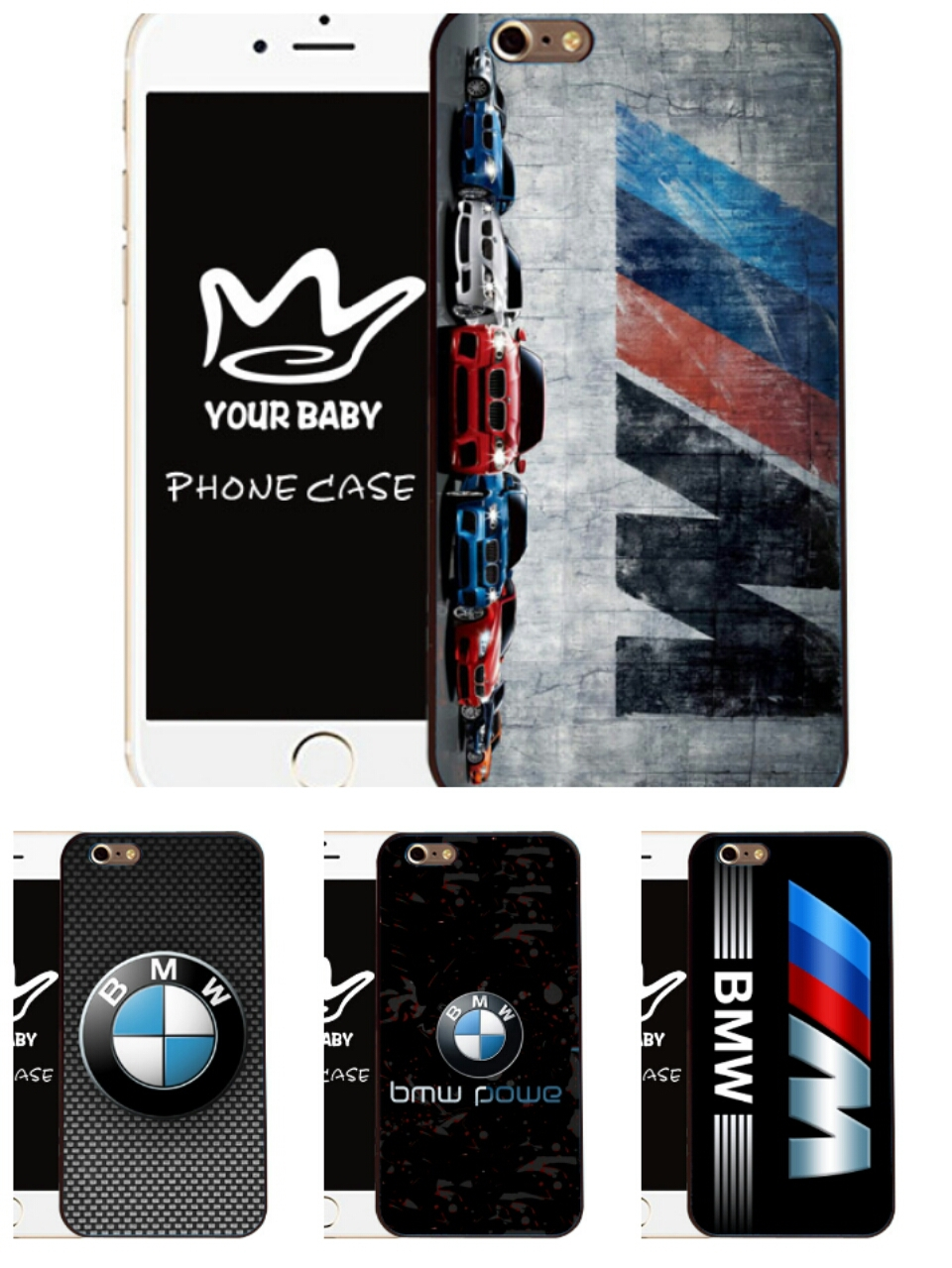 Cool Case for BMW Jacket M Series M3 M5 Z4M M Power For BMW logo Case for Samsung S6 S3 S4 S5 N3 N4 for iPhone 4 5 5c 6 6plus(China (Mainland))