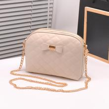 New 2015 Fashion Women Messenger Bag Bolsa Feminina Gold Chain Straps Plaid Sac Femme Quilted Leather Crossed Purses And Handbag