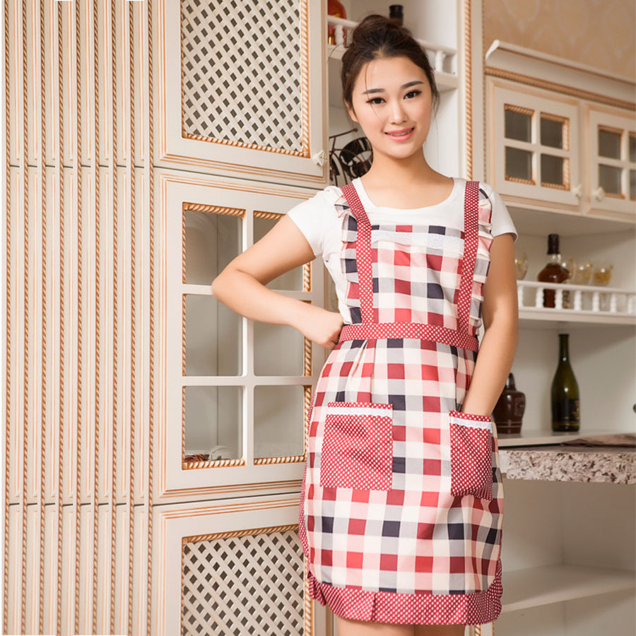 Kitchen Apron Customize Style Various Price Low New Pattern Apron Cafe restaurant uniforms Free Shiiping(China (Mainland))