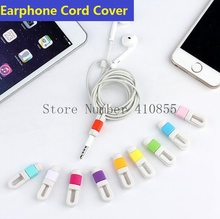 100pcs* Unique Colorful Cable Winder Protector Earphone Cord Saver Cover For iPhone Earpods only Links Cord, With Retail Package(China (Mainland))