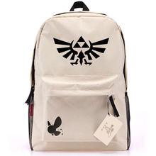 Anime The Legend of Zelda Link canvas backpack schoolbag travel bag Unisex(China (Mainland))