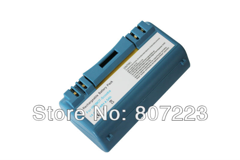 Super High capacity Replacement  iRobot Scooba Battery  14.4V 4500mAh 380 5900 Floor Washing Cleaner  battery