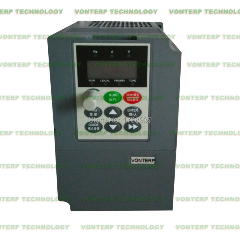 380v 1.5kw triple phase frequency inverter ac motor drive/VFD(China (Mainland))