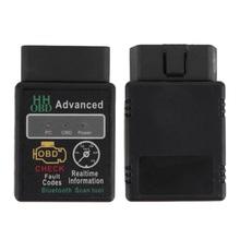 Mini ELM327 V2.1 Bluetooth HH OBD Advanced OBDII OBD2 ELM 327  Car Diagnostic Scanner code reader scan tool for Android(China (Mainland))