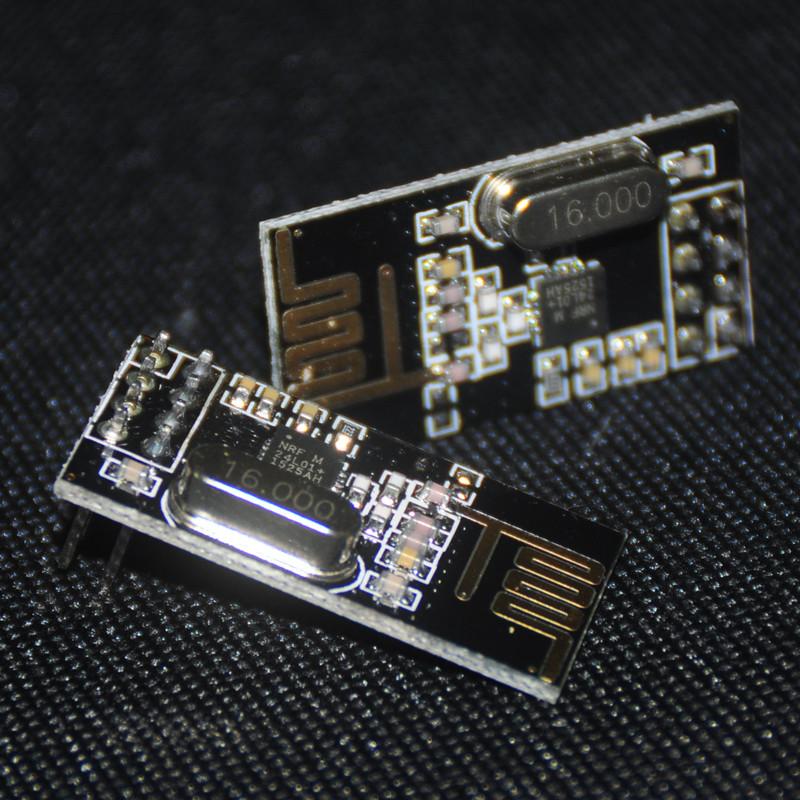 2pcs NRF24L01 For Arduino DIY Eletronicos Wireless RF Transceiver Module NRF24L01+ 2.4GHz Antenna For Microcontrol Wifi Module(China (Mainland))
