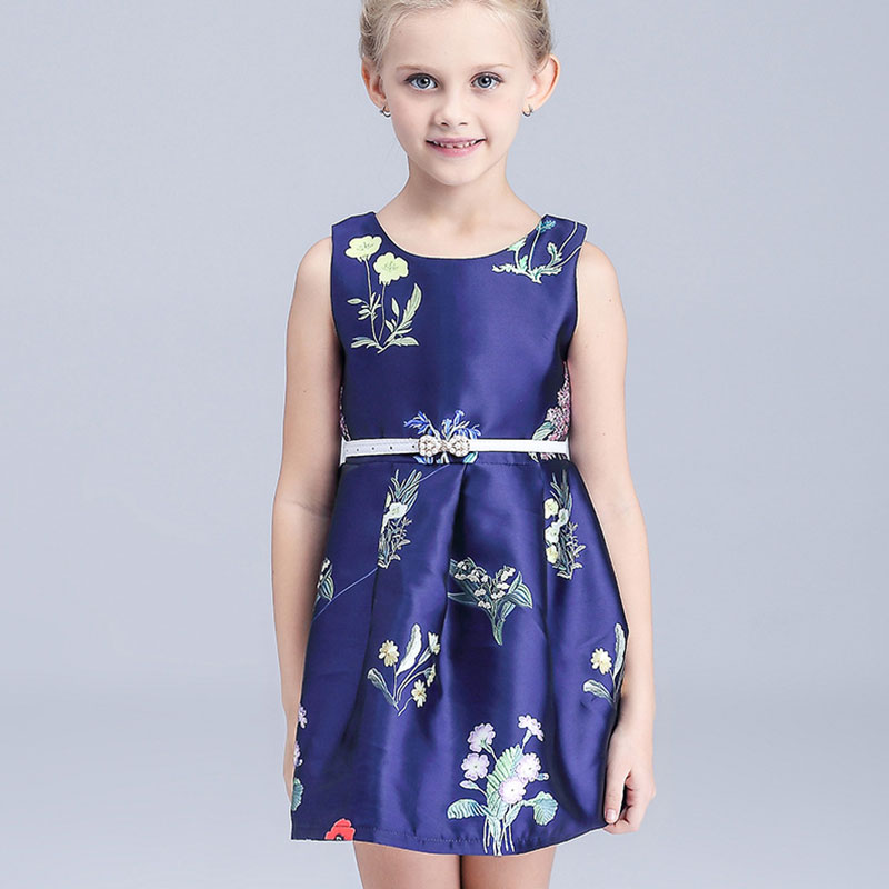 2016 hot selling fashion new summer clothes lace dress kids dress princess dress Kids clothes baby clothing baby girls dress re(China (Mainland))