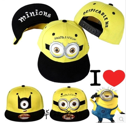 2015 Fashion Baseball Cap God Steal Dads Film Yellow People Child Flat Hip-hop Caps Boy And Girls Canvas Hat Free shipping(China (Mainland))
