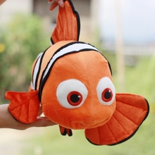 Plush doll 1pc 40cm cartoon cute movie Finding Nemo clownfish hold pillow home decoration stuffed toy creative gift for baby