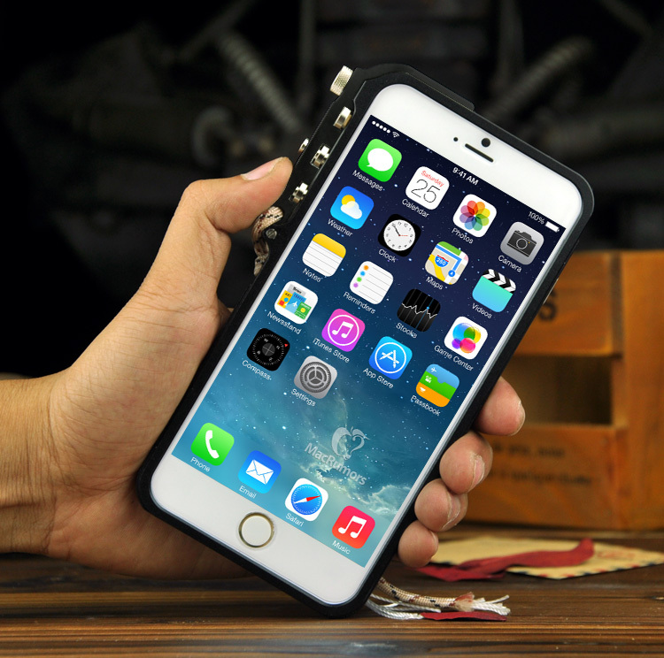 NEW original Love 6 plus mei case design Trigger Tactical Edition Metal Al Moblie phone bumper for apple iphone 6 plus 6plus(China (Mainland))