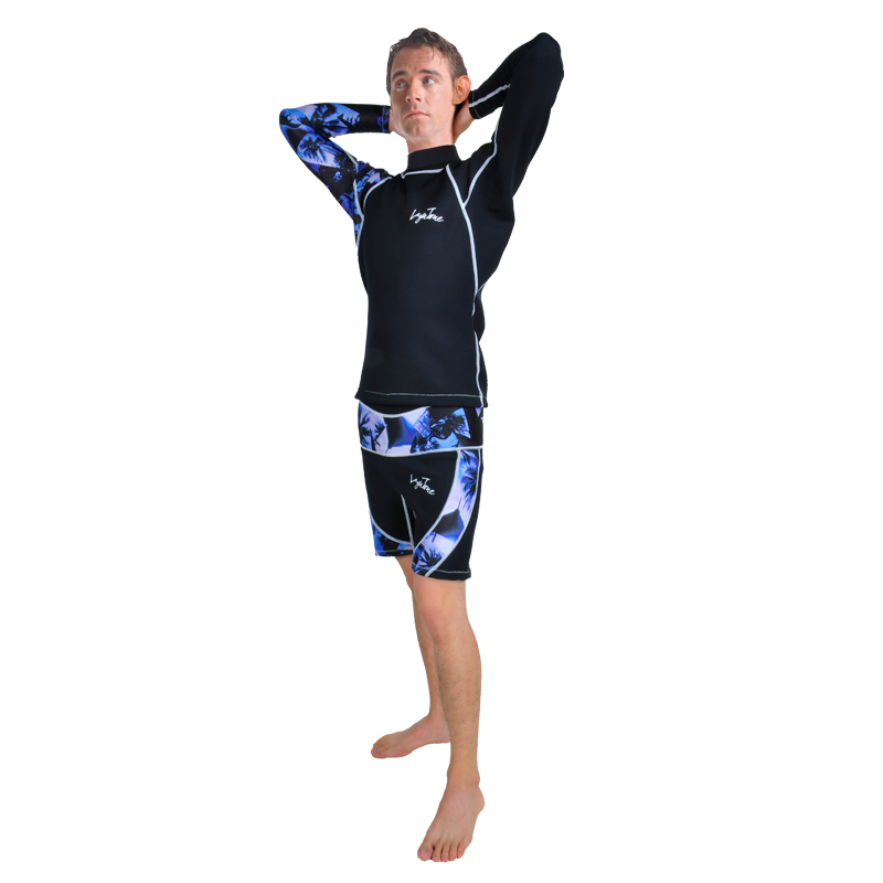 2016 NEW 2mm Neoprene no Zipper printing Scuba Diving surfing and swimming west and shorts For men  B1610U&amp;B1610D<br><br>Aliexpress