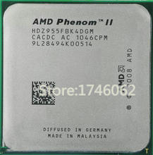 Original For Phenom II X4 955 Desktop CPU 3.2GHz 6MB Socket AM2+/AM3/95w 938Pin Quad-CORE scrattered pieces Free Ship(China (Mainland))