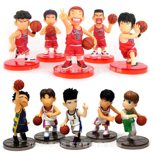 Здесь продается  Slam Dunk Shohoku basketball team Yingmuhuadao chuanfeng Q version of the model of creative hand office earners ornaments Jushi  Игрушки и Хобби