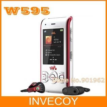 W595 Original Sony Ericsson W595 Unlocked Cell Phone 3G 3.15MP slider with freeship