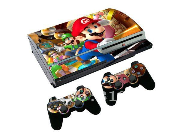 For SONY PS3 PVC Vinyl Skin Sticker from Manufacturer!3M,PP,PVC,PET different materials available!