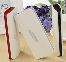 For SAMSUNG powerbank 20000mah 3 USB Power bank External battery For Xiaomi iPhone 6 6s plus Backup battery for all phones