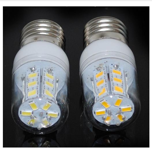 LED Corn light Bulb 5050 SMD 27 LED Light 4W Cover E27 G9 E14 360 degree led Lamp 110V 240V Warm White White light Free Shipping(China (Mainland))