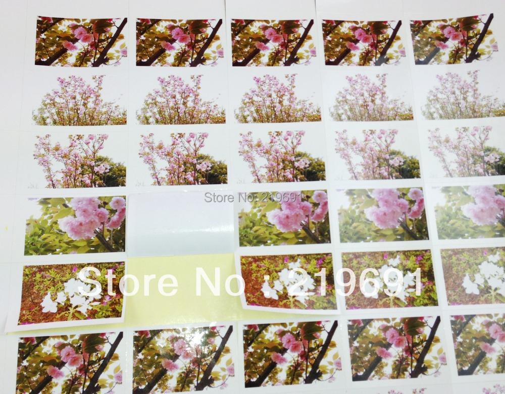 300pcs/lot custom stickers rectangle shape sticker /self adhesive shipping labels/custom sticker label/stickers(China (Mainland))
