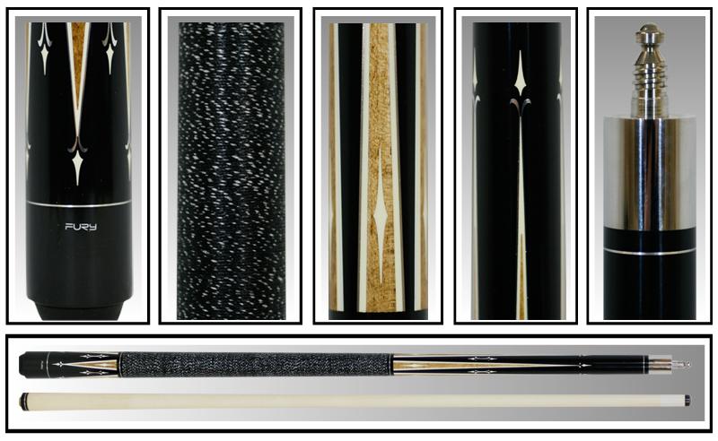 pool billiards/11.75mm &12.75mm (optional)/black Fury table pool cues set /DL Series Model DL-7(China (Mainland))