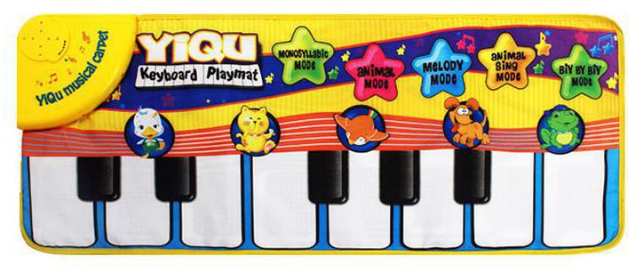 Finger Touch Play Child Electronic Piano Keyboard Musical Singing Carpet Toys(China (Mainland))