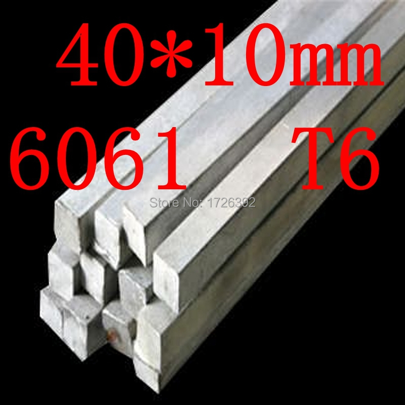 40mm x 10mm Aluminium Flat Bar,40*10mm,width 40mm,thickness 10mm,6061 T6