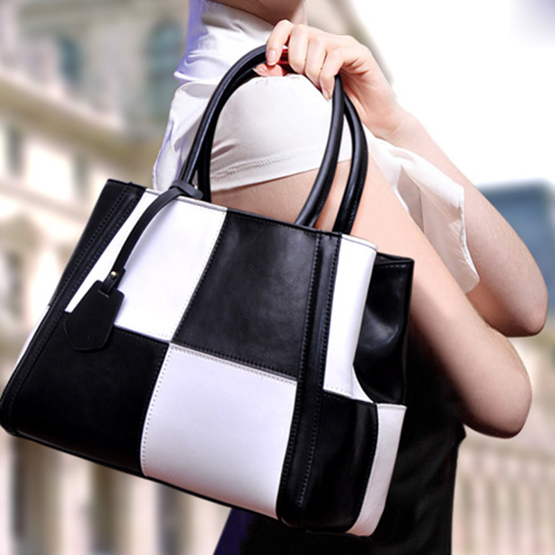 2016 New Fashion Handbag Genuine Cowhide Leather High Quality Zipper Bag For Ladies Shoulder Tote Bags Mochilas Femininas smb351<br><br>Aliexpress