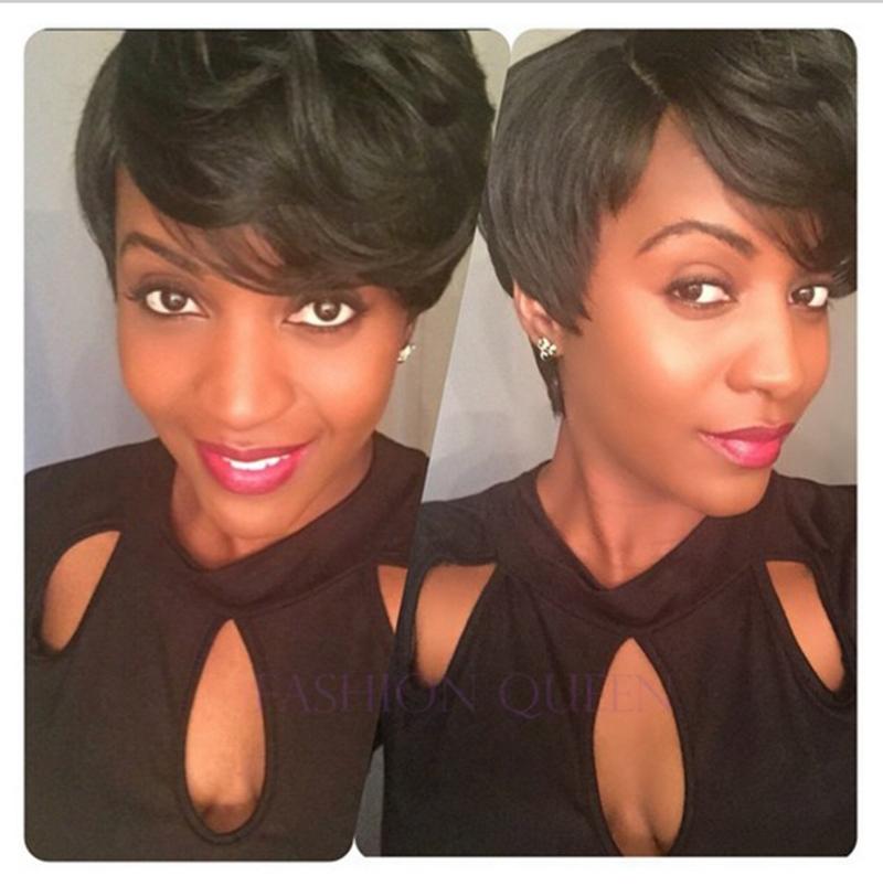 Dhl Free Shipping 28pcs Short Hair Bump Weave With Free Cap Free