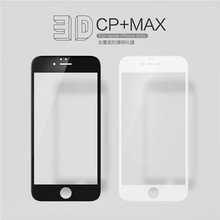 NILLKIN Amazing 3D CP+ MAX Full coverage Anti-Explosion 9H Tempered Glass Screen Protector For Apple Iphone 6 /iphone 6s