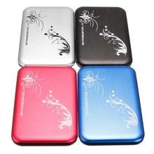 "Newest !! Hot Sale Portable Slim Enclosure USB 2.0 2.5"" SATA HDD Laptop Desktop Hard Drive Disk Case Box Enclosure External(China (Mainland))"