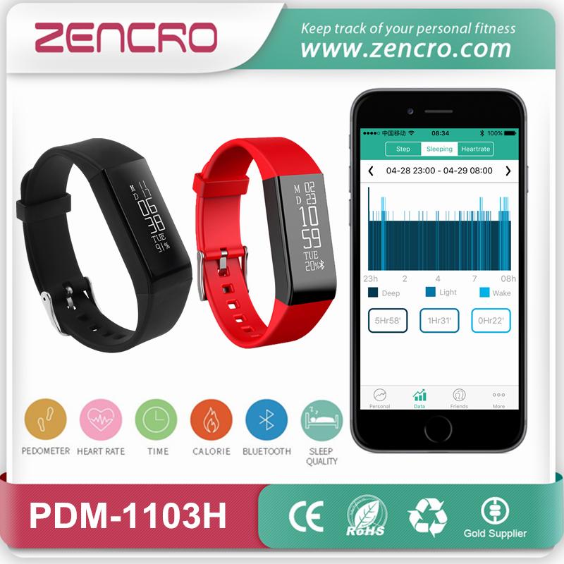Фотография Bluetooth Pedometer Heart Rate Monitoring Smart Pulse Band Bracelet Free Shipping