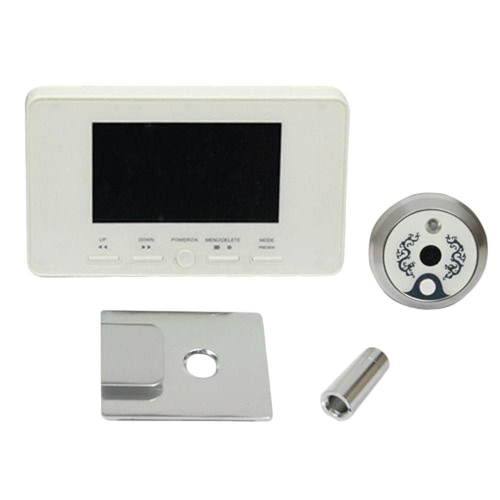 4.3 LCD Digital Door Eye Peephole Viewer Doorbell IR Photo Video Camera Brand New<br><br>Aliexpress