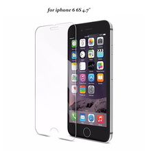 0.3mm for iPhone 4/4s/5 5s/6 6Plus Front Tempered Glass Screen Protector