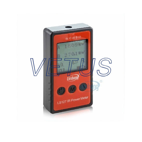 Fast shipping Brand New LS127 IR Infrared Power Meter Tester; Spectral wavelength Power Meter IR irradiation meter(China (Mainland))