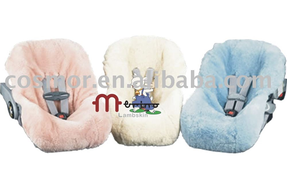Sheepskin Baby Car Seat Cover In Seat Covers From