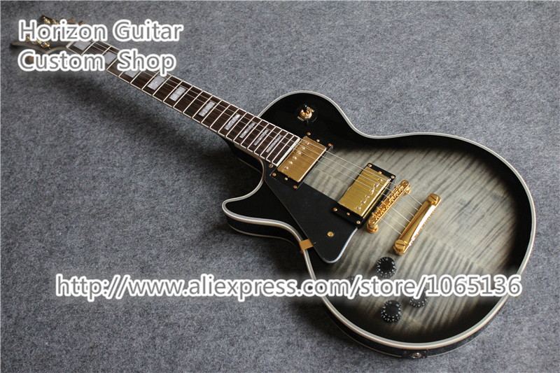 Good Cheap Price Left Handed Custom Guitarras Electricas LP Solid Body China Guitars In Stock For Sale(China (Mainland))