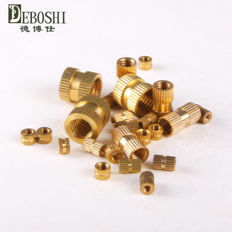 Copper inserts / Inserts / embedded copper / copper flower mother / cylindrical knurled nut M2.5 * 5-3.5<br><br>Aliexpress