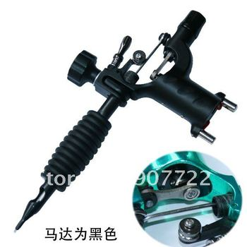 Fashion Black Dragonfly Rotary Tattoo Machine Gun Tattoos Kit Supply For Beginner & Artists