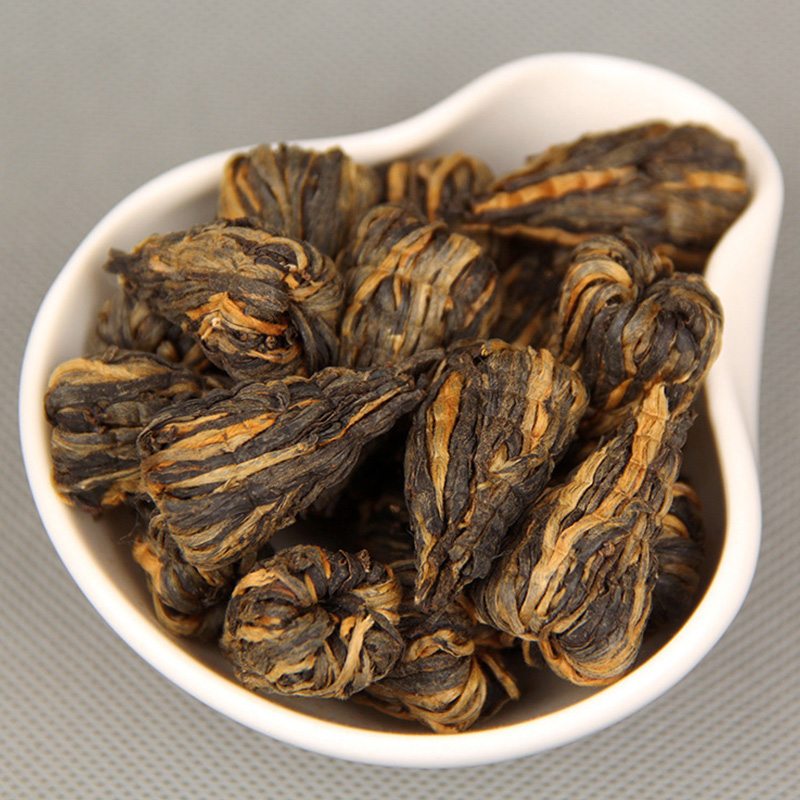 500g Dianhong Black Tea Tower Golden Pagoda 100% Handmade Organic Chinese Dian Hong Health Care Red Te 7067-35<br><br>Aliexpress