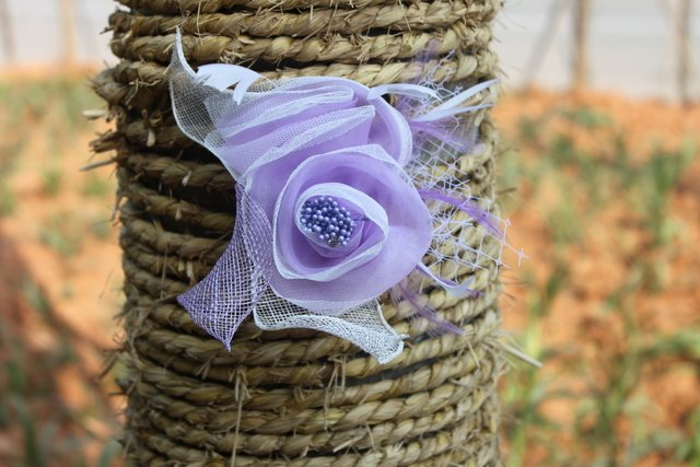 Hot Selling 15*15cm Purple Wedding Flower#5 Color Wholesale And Retail(China (Mainland))