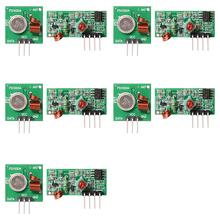 5Pair 433Mhz RF Transmitter Module + Receiver Kit Arduino ARM MCU WL TE122+ - Xcsource Parts Supplies Co. store