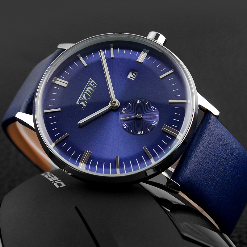 High-end fashion male business authentic moment beautiful quartz watch, with comfortable, waterproof, and other functions(China (Mainland))