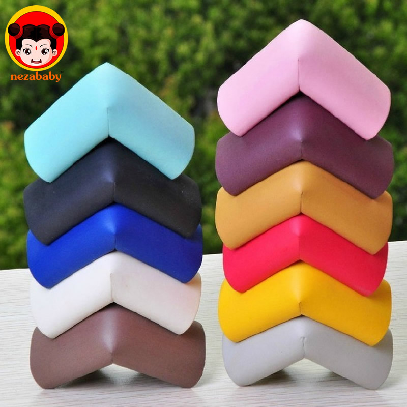 4pcs Soft Baby Safe Corner Guards Baby Kids Table Desk Corner Guard Baby Edge Protector Children Safety Edge Guards FH01