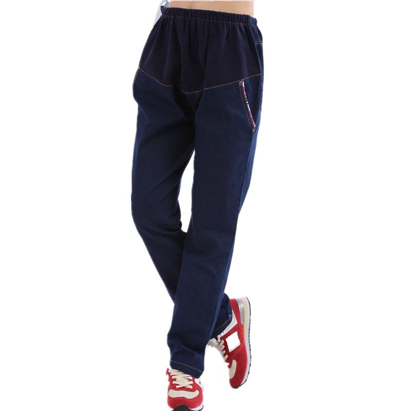 Spring Summer Maternity Belly Pants Denim Jeans Trousers Pregnant Women Clothing Gravida Wear Long Maternidade Clothes M L - Elegdream Fashion store