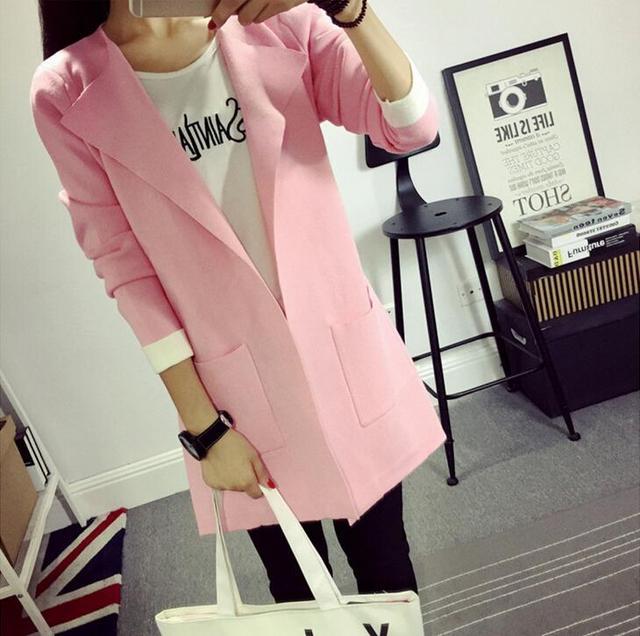 Бесплатная доставка 2015 новый стиль горячей продажи женщин однобортный пальто карман ...