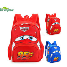 2016 Boys &Girls School Bags Cool Car Shape Children Backpack Brand Child Rucksack Boys Satchel Waterproof Book Bags DL0306(China (Mainland))