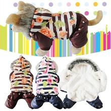 Buy Dog Coat Winter Warm Clothes Chihuahua Yorkshire Fog Dogs Clothes Snowman Jacket Pet Dog Costume Puppy Jumpsuit Hoody Clothing for $7.75 in AliExpress store