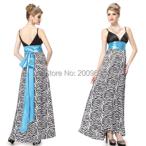HE09010 Ever Pretty Blue Pink Sexy Tie Back Long Formal Cheap Prom Evening Gown Dress 2015(China (Mainland))