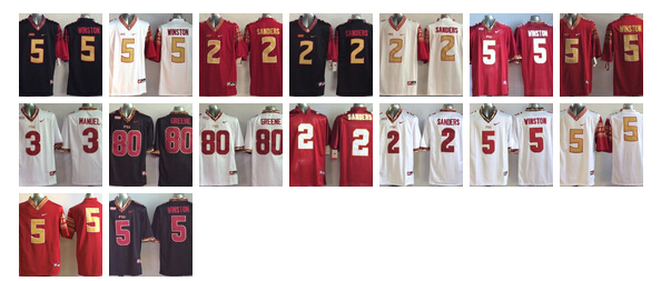 Top A Best quality 2016 men's High Quality Florida State Seminoles all player(China (Mainland))