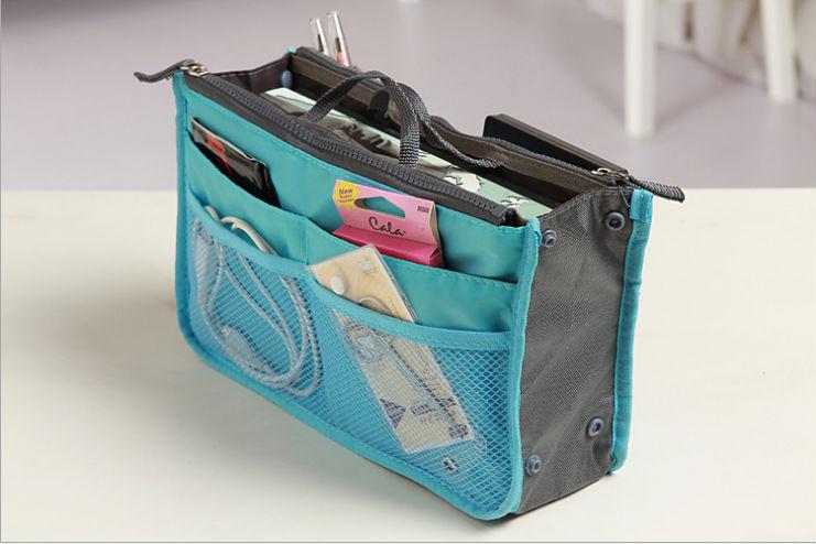 FREE SHIPPING Make up organizer bag Women Men Casual travel bag multi functional Cosmetic Bags storage