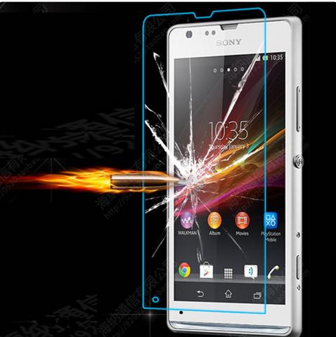 Защитная пленка для мобильных телефонов 0,3 9H 2.5d Sony Xperia ZR M36H C5502 C5503 + защитная пленка для мобильных телефонов hd sony xperia zr m36h